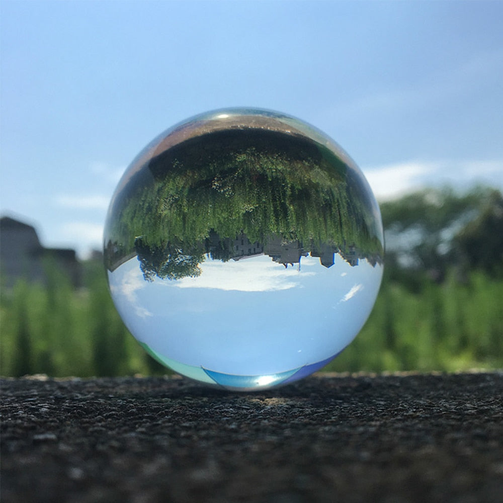 Crystal Reflective Sphere Magical Witch