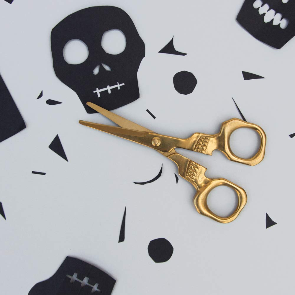 Stainless Steel Skull Novelty Scissors