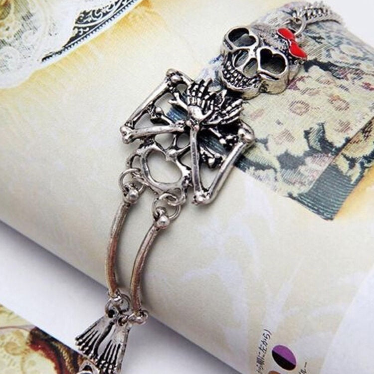 gothic skull accessory skull jewelry skull bracelet gift for women