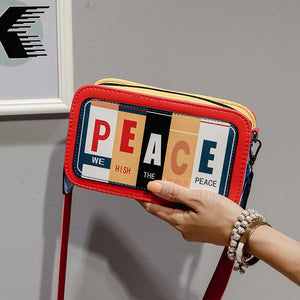 PEACE Shoulder Bag