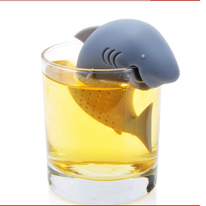 Curvy Shark Silicone Tea Infuser