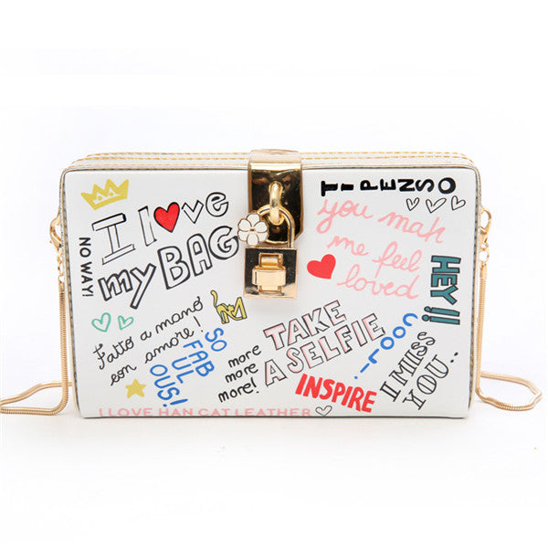 i heart my bag fashionista statement women's handbag