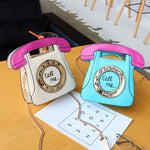 women's creative personality handbag shoulder bag phone