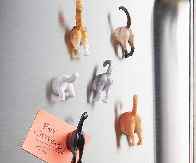 Purr-fect Butt Magnets ( Pack of 6)