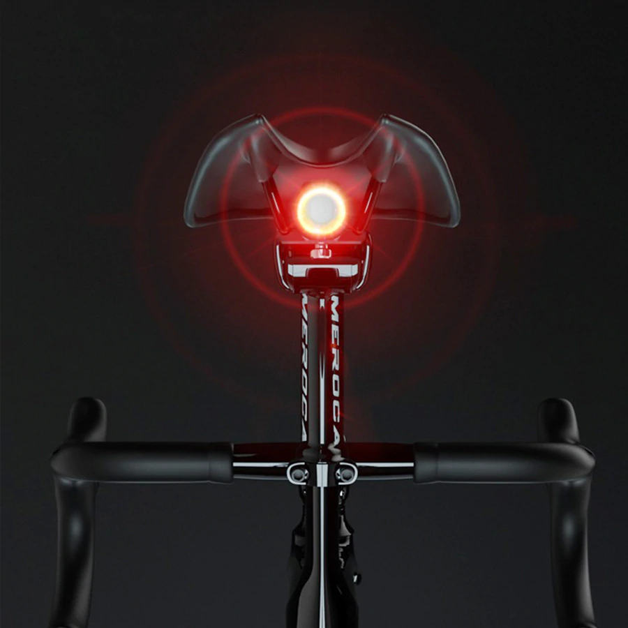 Rechargeable Smart Bicycle Brake Light