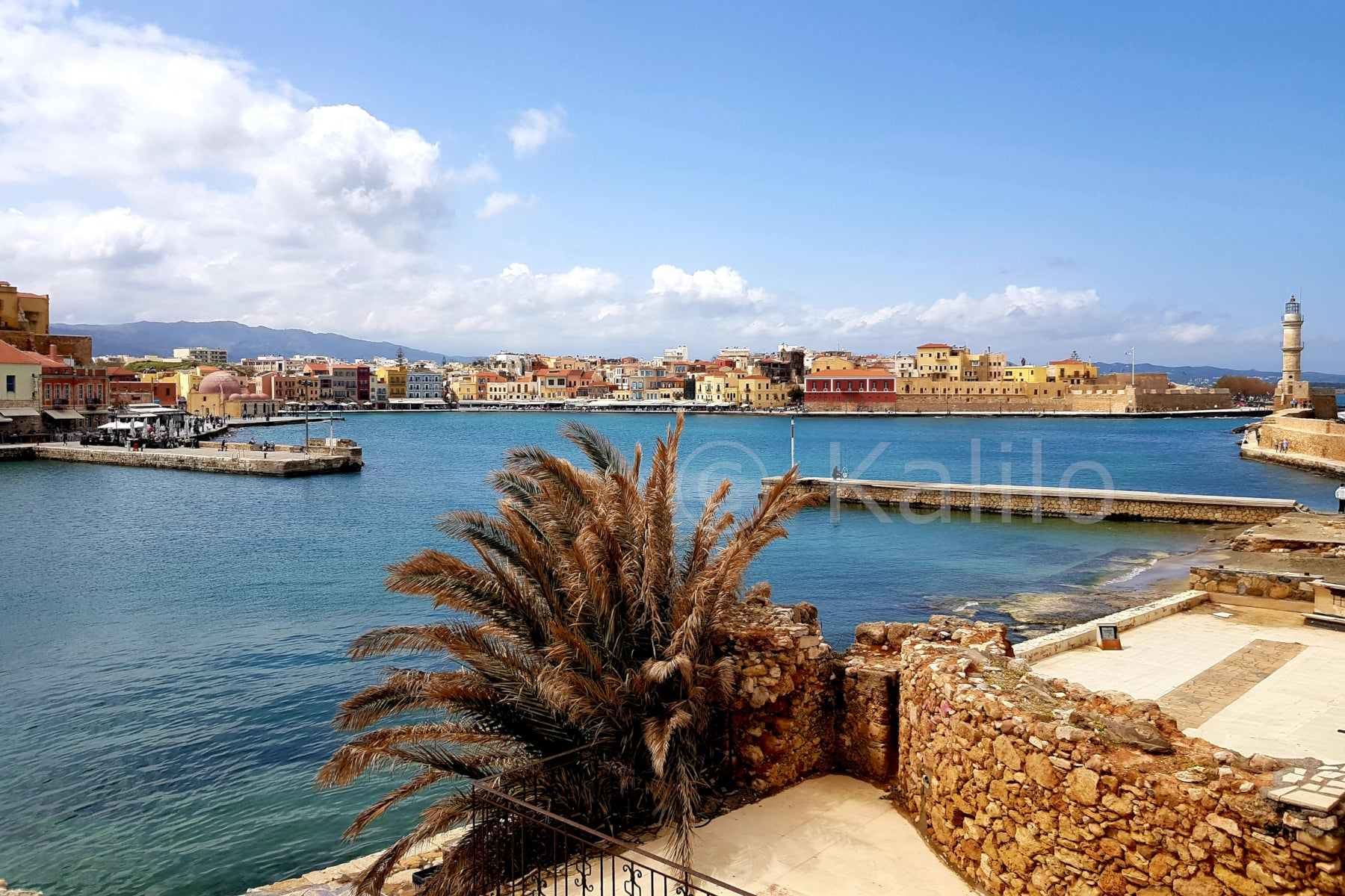 Venetian harbour of Chania - Crete, Greece