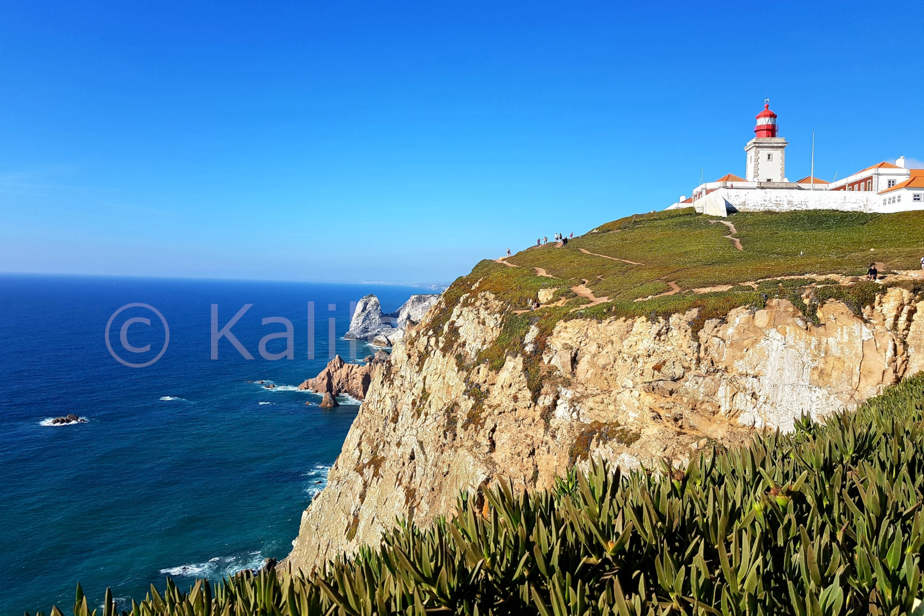 Cabo De Roca - Westernmost point Europe - Portugal