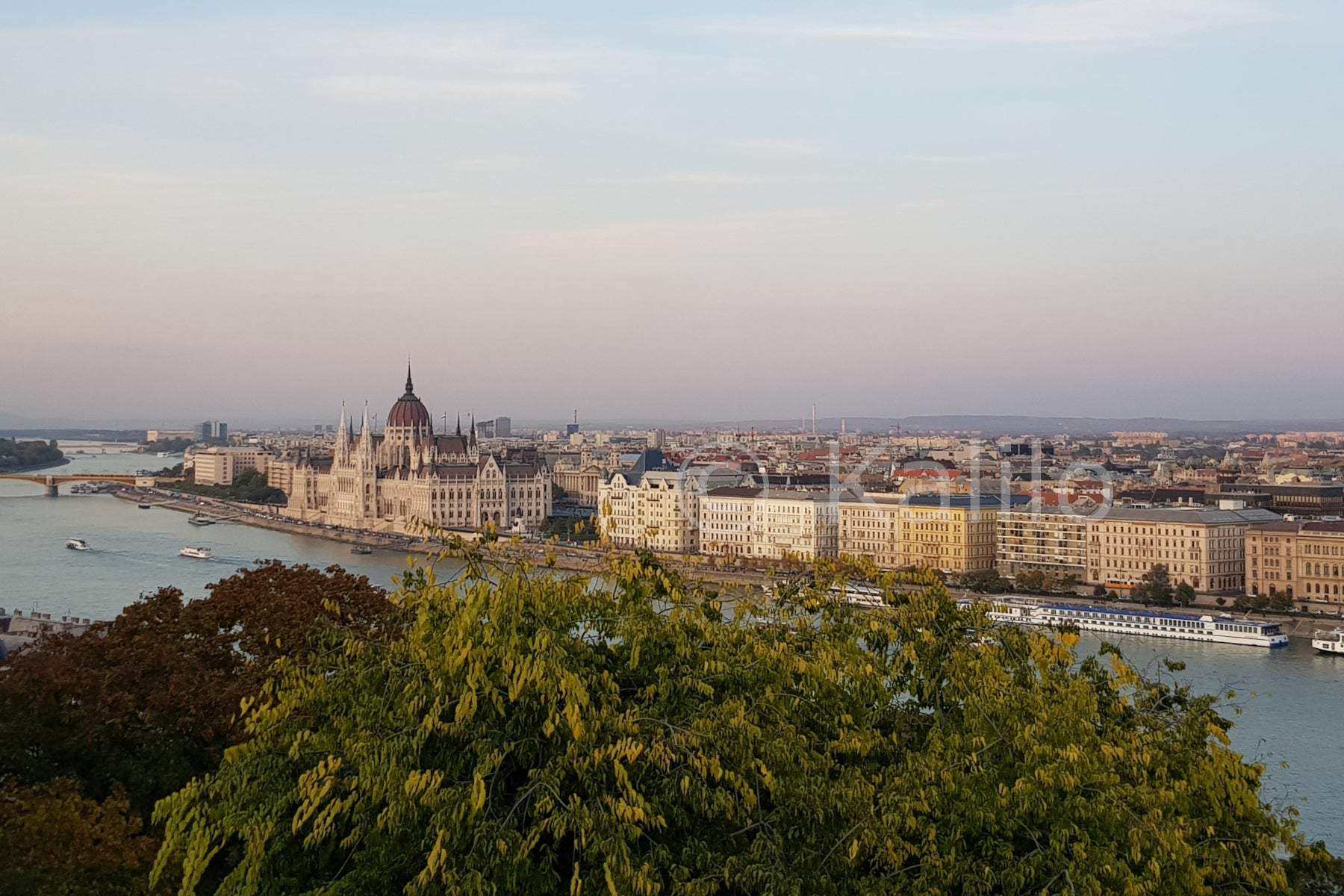View of Pest from Buda - Budapest, Hungary