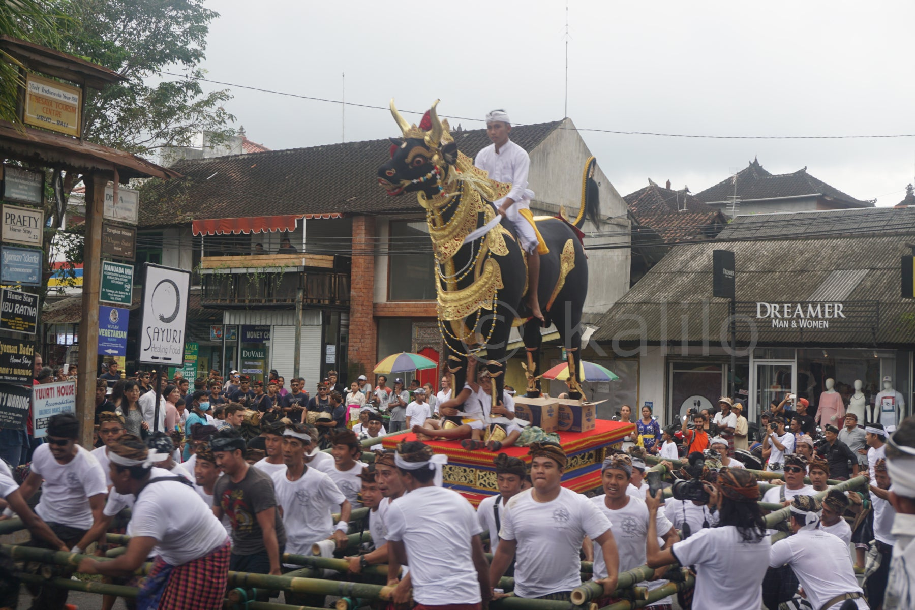 Ngaben - The cremation festival - Bali, Indonesia
