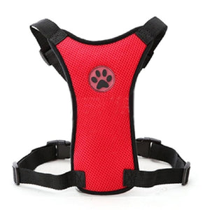 Mesh Dog Pet Harness w Strap