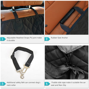 Back Seat Non Slip HD Cover