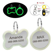 Load image into Gallery viewer, Fluorescence Dog ID Tag