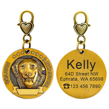 Load image into Gallery viewer, Copper Coated ID Tag