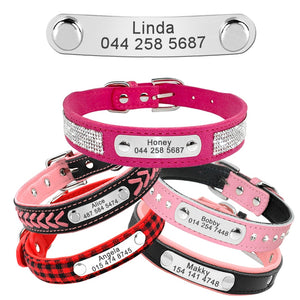 Bling Puppy ID  Dog or Cat Collar