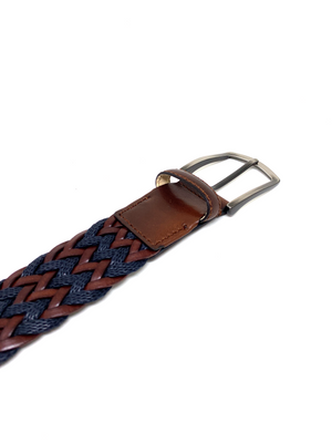 Hand-braided Belt - GUAYABA - BOCA MMXII - Official website