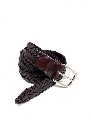 Hand-braided leather Belt - DALIA - BOCA MMXII - Official website