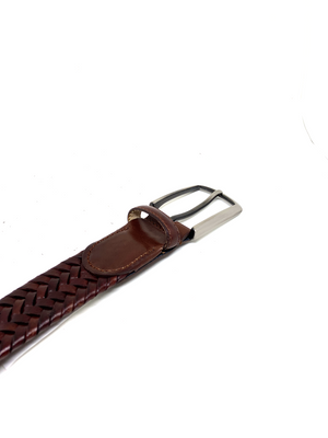 Hand-braided leather Belt - PALMA - BOCA MMXII - Official website