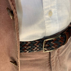 Hand-braided Belt - GUAYABA