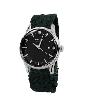 Alfieri Black - Forest Green Wristband - BOCA MMXII - Official website
