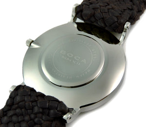 Style Master Black - Silver Wristband - BOCA MMXII - Official website