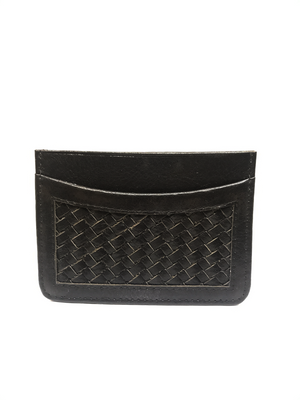 small BRAIDED CARD HOLDER #One - BOCA MMXII - Official website