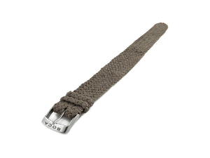 Grey leather watch strap - one piece - - BOCA MMXII - Official website