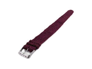 Purple leather watch strap - one piece - - BOCA MMXII - Official website