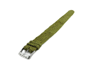 Olive leather watch strap - one piece - - BOCA MMXII - Official website