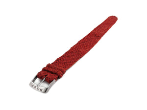 Red leather watch strap - one piece - - BOCA MMXII - Official website