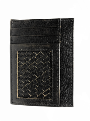 large BRAIDED CARD HOLDER #One - BOCA MMXII - Official website