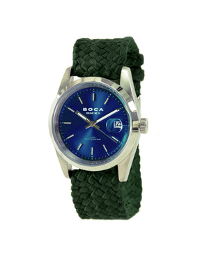 Country Club Blue - Forest Green Wristband - BOCA MMXII - Official website