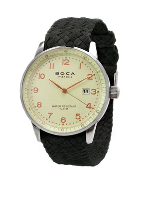 Grand Traveler Beige Beige -  Black Wristband - BOCA MMXII - Official website