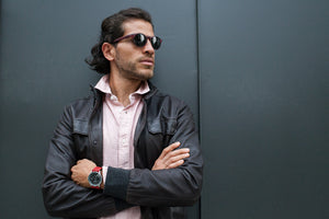 Grand Traveler Black - Olive Wristband - BOCA MMXII - Official website