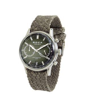 Metropole Chrono Black with Grey Wristband - BOCA MMXII - Official website