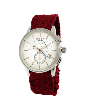 Momento Chrono Copper -  Red Wristband - BOCA MMXII - Official website