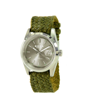 Country Club Grey - Olive Wristband - BOCA MMXII - Official website