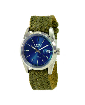 Country Club Blue - Olive Wristband - BOCA MMXII - Official website