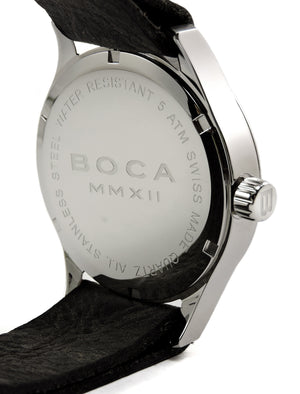 Primero Black - Silver Wristband - BOCA MMXII - Official website