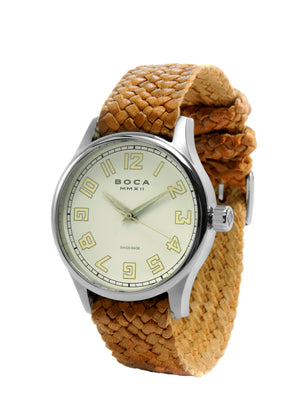 Primero Beige - Bright Tobacco Wristband - BOCA MMXII - Official website