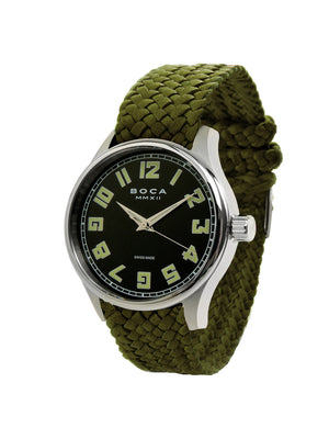 Primero Black - Olive Wristband - BOCA MMXII - Official website