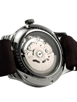 Riviera Silver Automatic - Black Wristband - BOCA MMXII - Official website