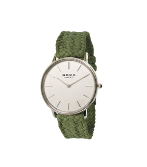 Simpl Silver - Olive Wristband