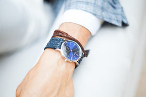 Style Master Blue - Bright Tobacco Wristband - BOCA MMXII - Official website