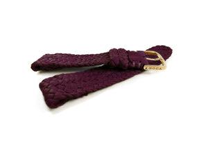 Purple leather watch strap - BOCA MMXII - Official website