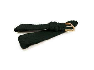 Forest Green leather watch strap - BOCA MMXII - Official website