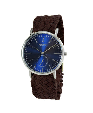 Style Master Blue - Brown Wristband - BOCA MMXII - Official website