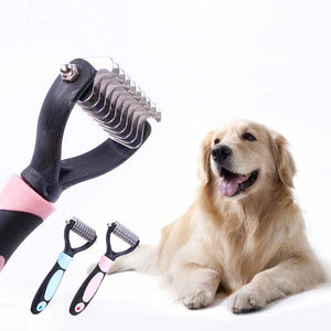 Pet Cat Dog Comb Brush Professional Open Hair Knot Knife - Pet Tools