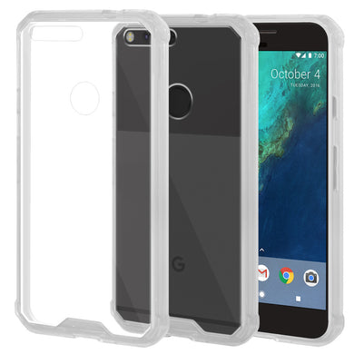 SlimGrip Shockproof Hybrid Case with Clear Trim for Google Pixel
