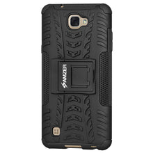 Load image into Gallery viewer, AMZER Shockproof Warrior Hybrid Case for LG X Max LGK240H - Black/Black