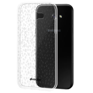 AMZER Transparent Raindrop Pudding TPU Case - Clear for Samsung Galaxy A7 2017